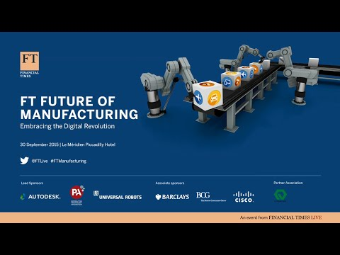 Avi Reichental, CEO of 3D Systems addresses FT Manufacturing Summit