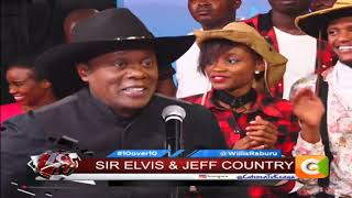 10 OVER 10 | Sir Elvis and Jeff Koinange exclusive on 10 over 10