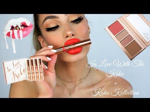 kylie-cosmetics-koko-kollection---makeup-tutorial-&-swatches- -cheyenne-roncales