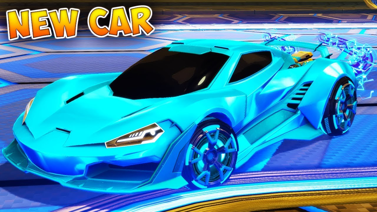 Rocket League New Car >> The Best Looking Rocket League Car Is The New Cyclone Car Good