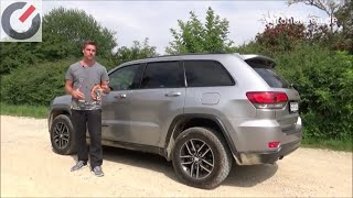 Jeep Grand Cherokee Trailhawk 3.0 V6 MultiJet 184 kW / 250 PS 2018 Fahrbericht, Test, Review