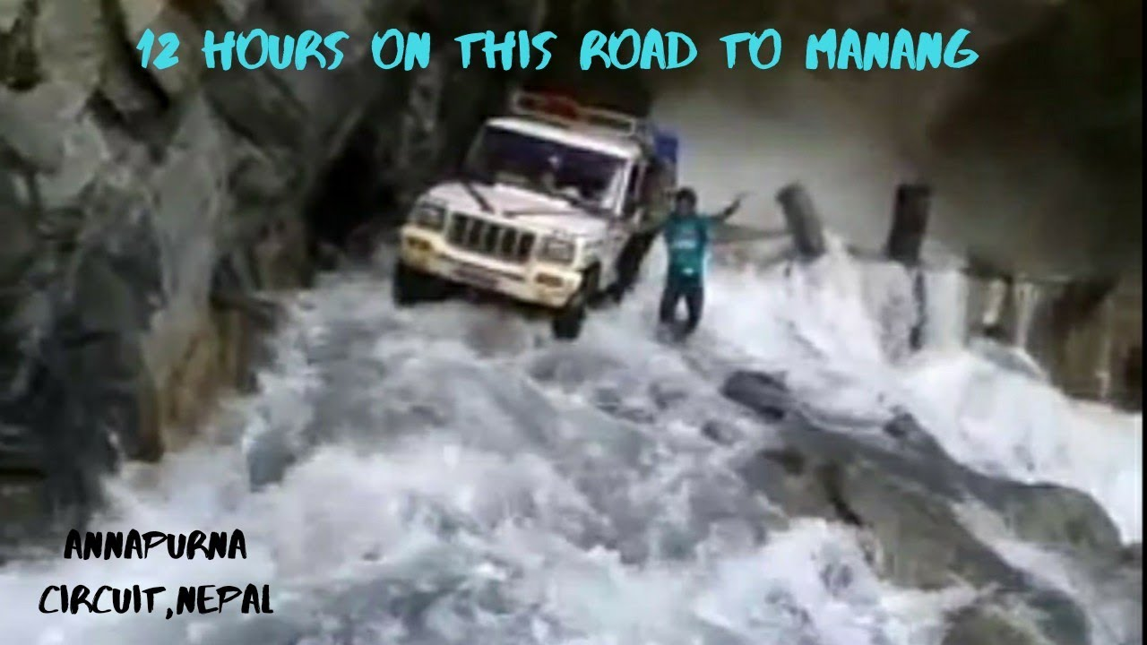 Download Most Dangerous road in the world I On the way to Manang I