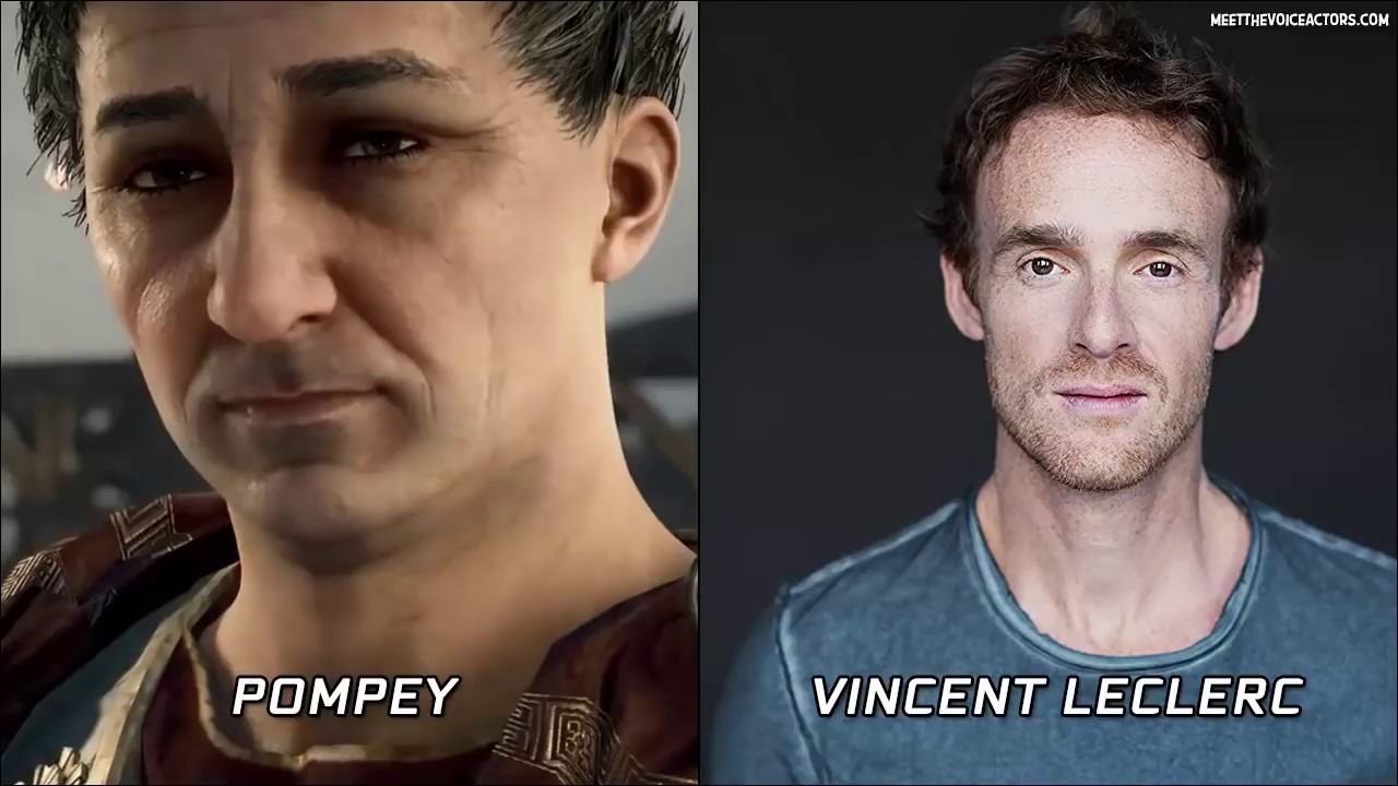 Assassin's Creed Origins All Characters Voice Actors - YouTube