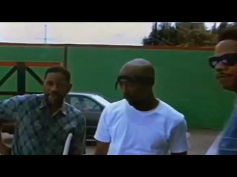 2Pac & Stretch at Marcus Garvey School (New Footage)