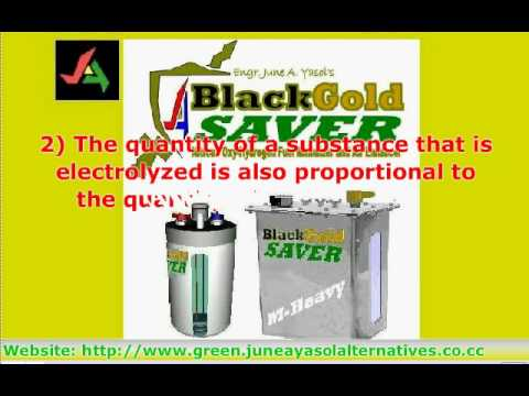 BLACKGOLD SAVER- eWater to Nitrous OxyHydrogen Air-Fuel Enhancer and Emission Cleaner