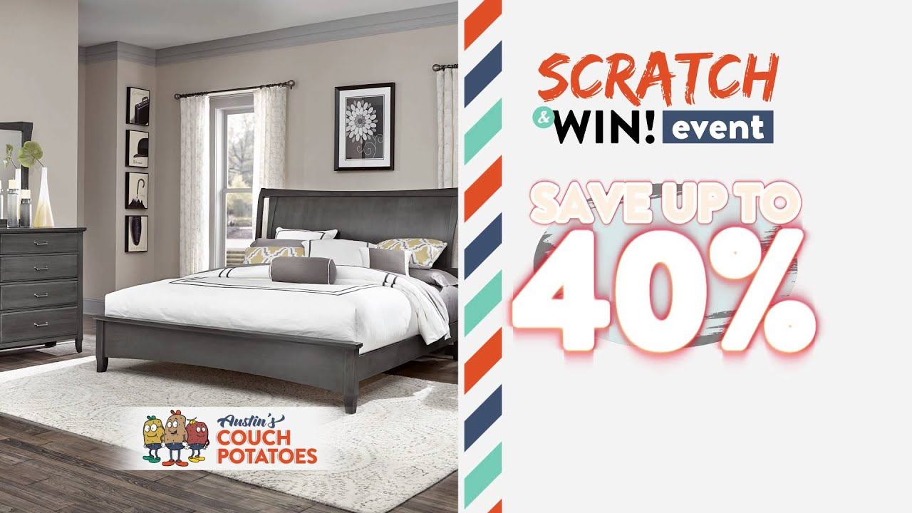 Austin s Couch Potatoes Scratch & Win Event