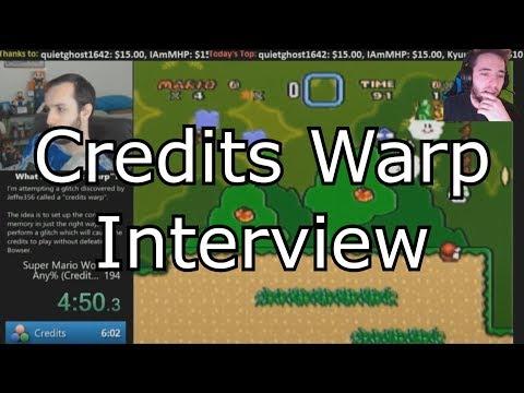 """""""Interview: SMW Credits Warp with MitchFlowerPower"""""""