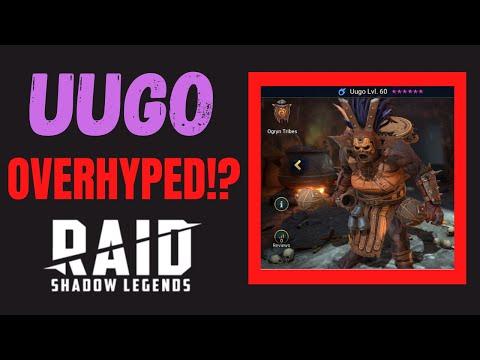Uugo OVERHYPED!?!   Champion Guide   Raid Shadow Legends