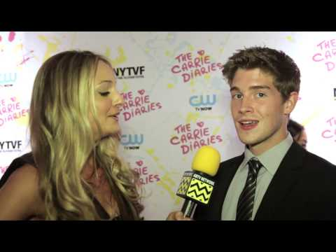 AfterBuzz TV s Brendan Dooling @ CW's The Carrie Diaries Premiere