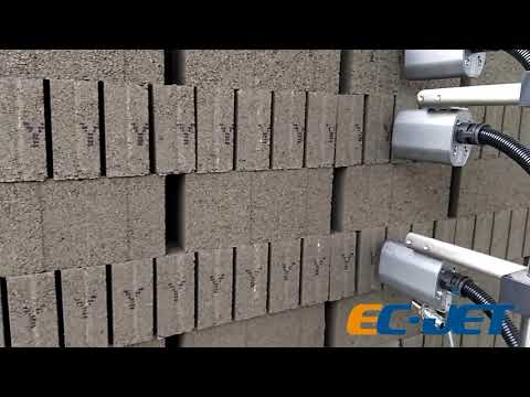 EC-JET DOD application on bricks