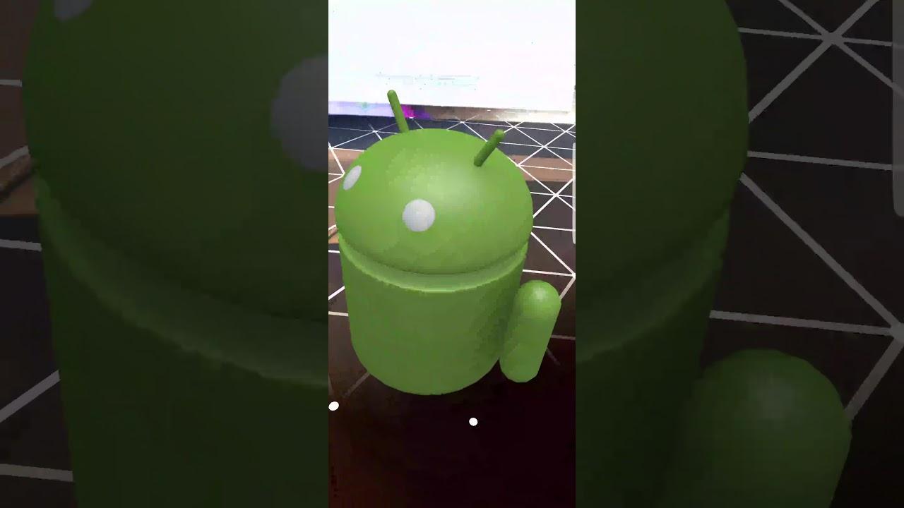 ARCore OpenGL demo app