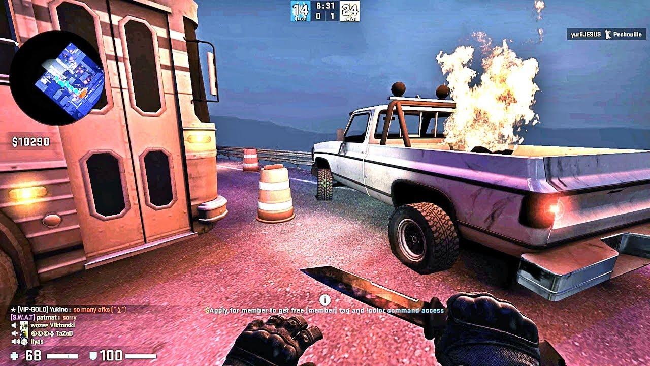 CS:GO · Zombie Escape Mod: ze_Death_Wish (GUC Server) thumbnail