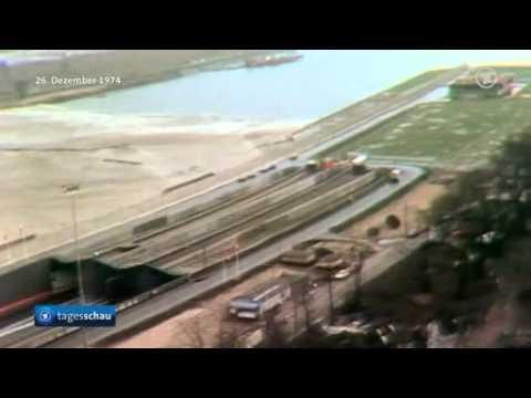 Vor 40 Jahren: Elbtunnel in Hamburg wird eingeweiht