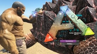 ARK Survival Evolved Gameplay - TAMING CARBONEMYS & NEW TEAMMATE ETHO! - Online Part 2 | Pungence