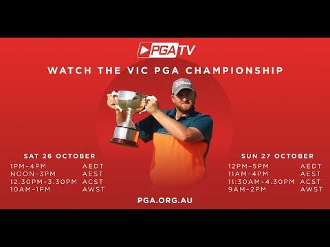 Round 4 Livestream | 2019 Victorian PGA Championship - RACV Cape Schanck | Live Golf
