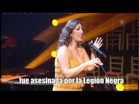Dorantes y Esperanza Fernandez interpretan el himno gitano 'Gelem, gelem'