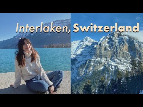 Weekend in Switzerland 🏔Study Abroad Independent Travel