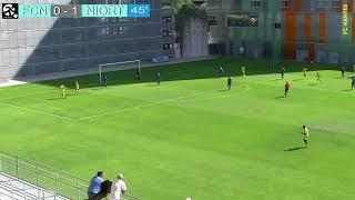 U19 : les buts de FC Nantes - Niort (1-2)