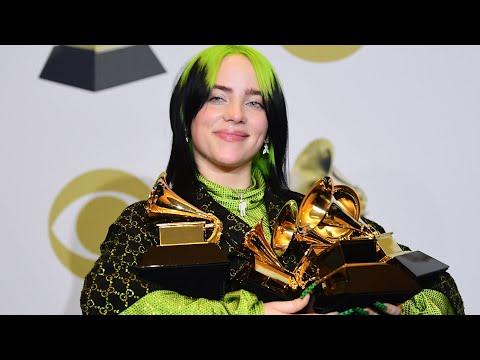 18 жастағы поп жұлдыз Билли Айлиш - Grammy үздігі