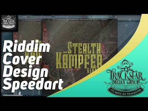 Stealth-Kämpfer Riddim Cover Art Design | #13 [Speed Art Tutorial] | 2019 | ?? Itz-Beez-Da TrackStar thumbnail
