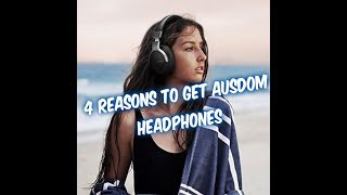 Video 4 Reasons Why Ausdom Headphones are Better than Beats! download MP3, 3GP, MP4, WEBM, AVI, FLV Juli 2018