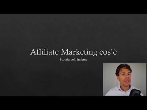Affiliate Marketing Cos'è
