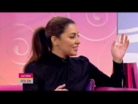 Laila Rouass on Lorraine (Holby City)