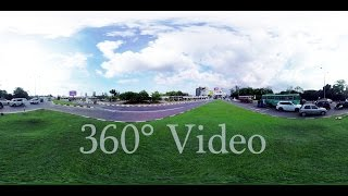 Diyawanna Oya Park (Diyatha Uyana) and Polduwa Junction 360° Street View 4K