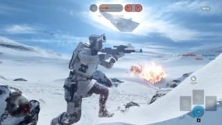 Star Wars Battlefront Beta (PC)Walker Assault with HERO gameplay