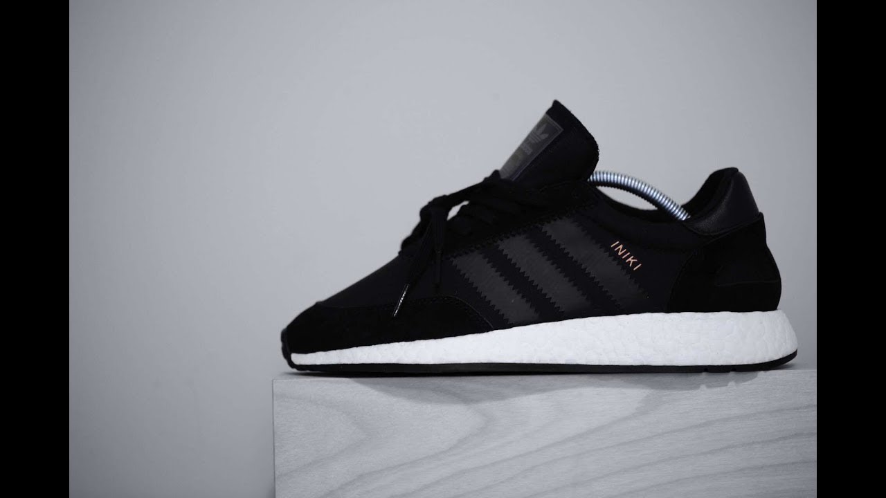 Adidas Iniki Runner Boost (Core Black White) - YouTube 8c1eed1f9