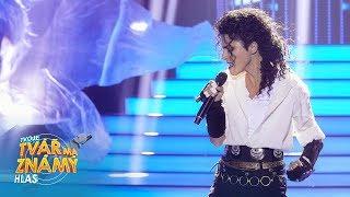 Eva Burešová jako Michael Jackson