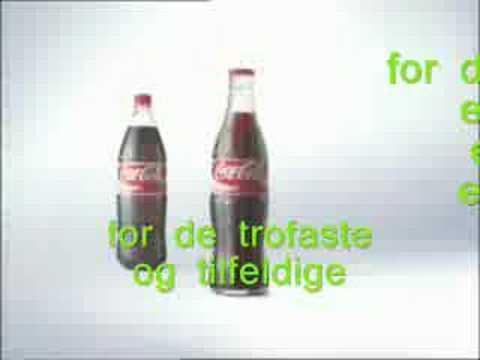 Coca Cola - For de mange (Karaoke)