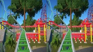 3D-VR VIDEOS 270 SBS Virtual Reality Video google cardboard 2к