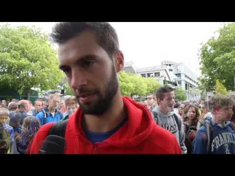 Roland Garros 2013 Preview Interview Paire