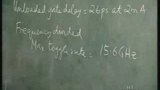 Lecture 23 Heterojunction Bipolar Transistor Based ECL;ECL