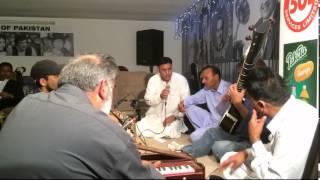 Raja Khadim [Pakistan] & Wajid Hussain & Ch Shokat Ali - Pothwari Sher - Mujaz - Bgham - 10.08.2015
