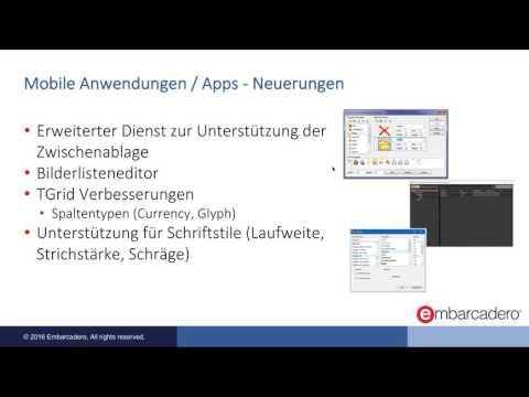 RAD Studio 10.1 Berlin: Neues für Entwickler mobiler Apps