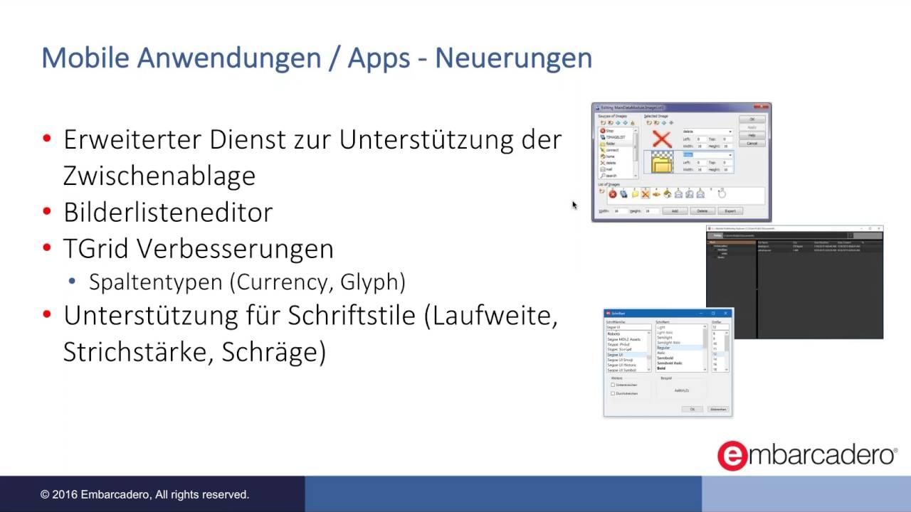RAD Studio 10.1 Berlin: Neues für Entwickler mobiler Apps - YouTube