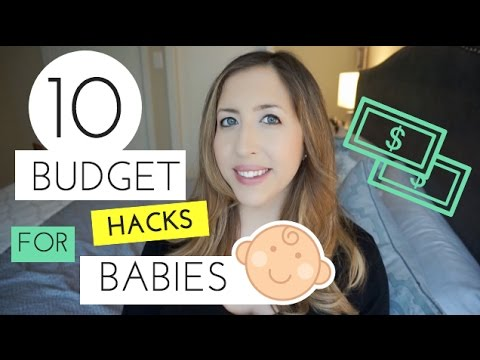BABY BUDGETING TIPS: 10 Budget HACKS for Preparing for a NEWBORN
