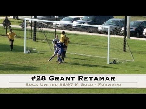 #28 Grant Retamar - Forward - Boca United 96/97 Gold ...