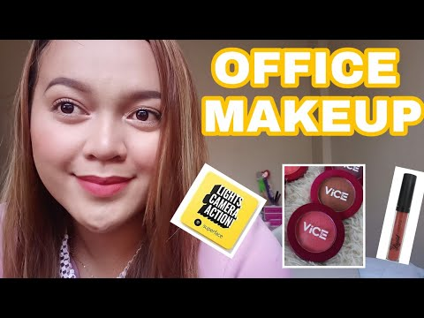 MAKEUP FOR WORKING LADIES | LIGHTWEIGHT & EASY | SUPERFACE CUSHION | VICE AURA | MAYBELLINE thumbnail
