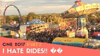 Vlog Trying Weird Carnival Food I Cried On The Sky Ride Cne Ex Part 2