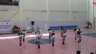 Cheerleading. Чир спорт. Команда Той Тач.
