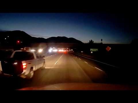 BigRigTravels LIVE! Hesperia to Moreno Valley, California-I-15, CA 60 & I-215-Jan. 15, 2018