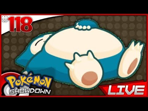 Pokemon Showdown *LIVE* #118 - MY CHEEKS ARE STILL OPEN