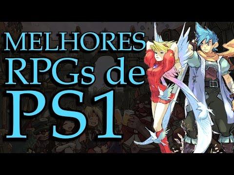 Os Melhores RPGs De Playstation 1 (feat. Madrugatina) - Best PS1 RPGs