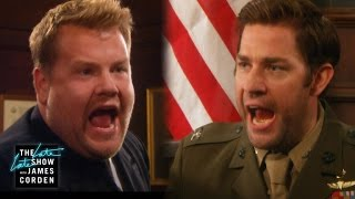 John Krasinski & James Corden Were Cut From All Your Favorite Films by : The Late Late Show with James Corden