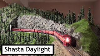 Southern Pacific Railroad in the Cascades - Part 4, the Shasta Daylight