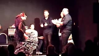Fin de fiesta Tablao hippodrome Toulouse, Vanessa Paez Toni Fernandez et Pepe fernandez