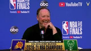 Mike Budenholzer NBA Finals Media Availability   7.19.21